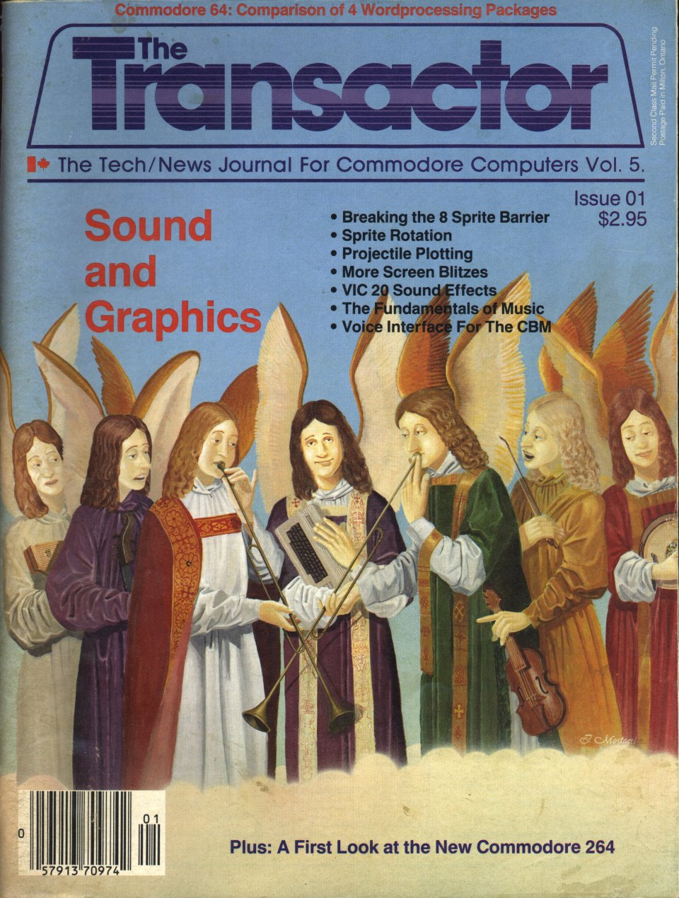 [Cover Page of The Transactor Volume 5, Issue 1: Sound and Graphics]
