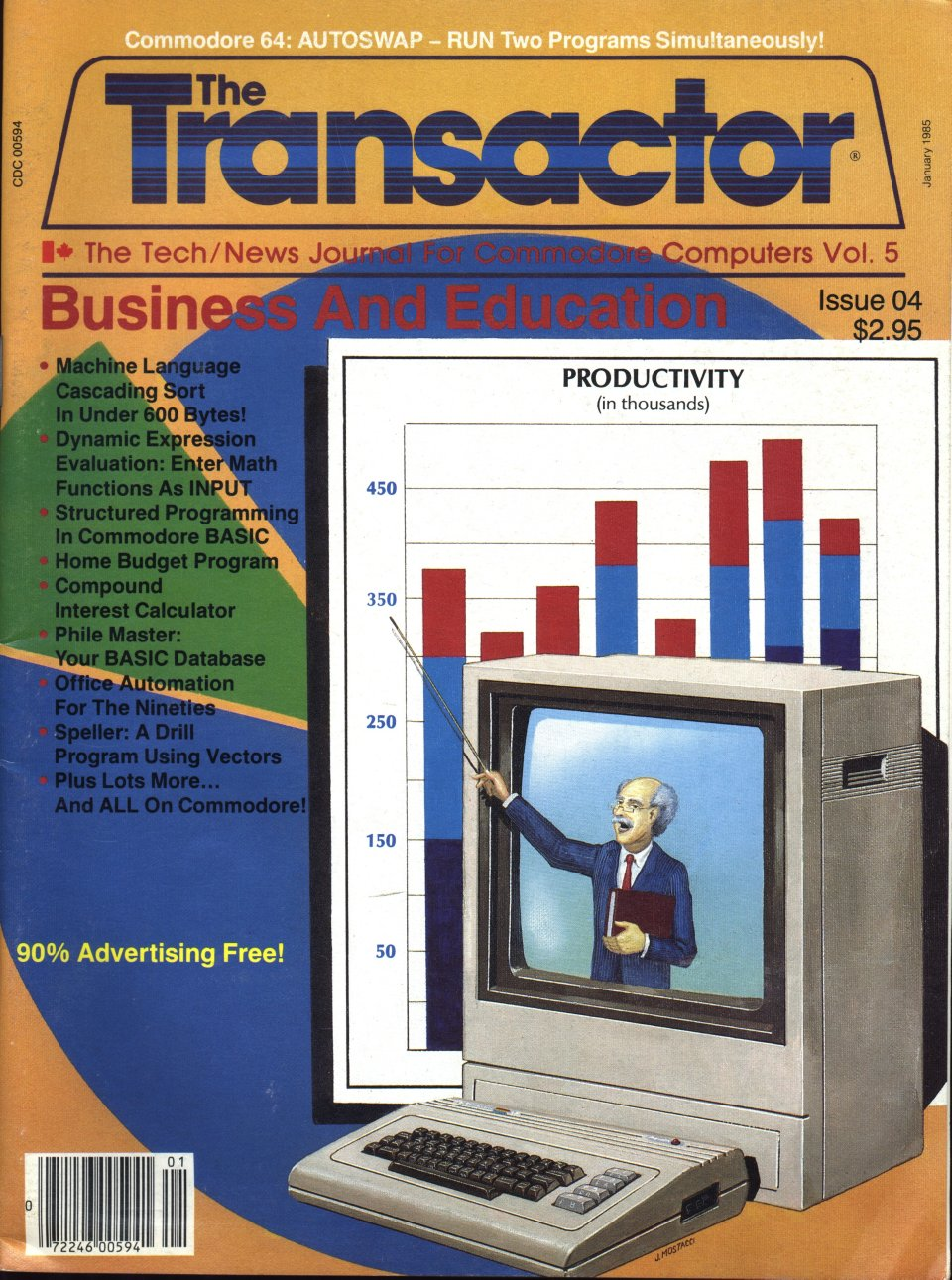 [Cover Page of The Transactor Volume 5, Issue 4: Business and Education]
