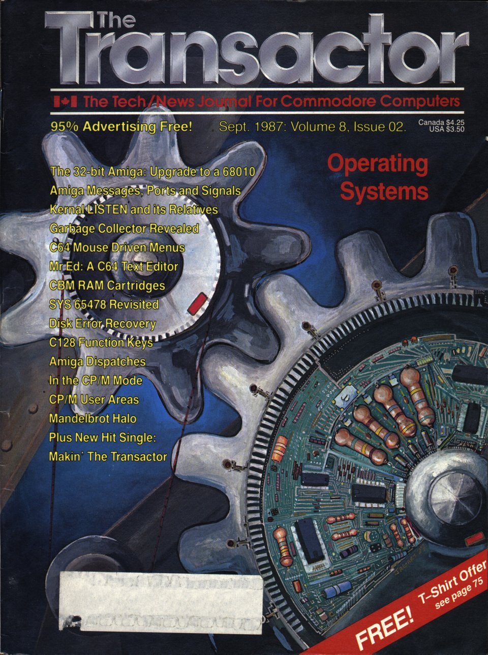 [Cover Page of The Transactor Volume 8, Issue 2: Operating Systems]